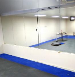 Зеркало в хореографический зал 1800 1000 мм.