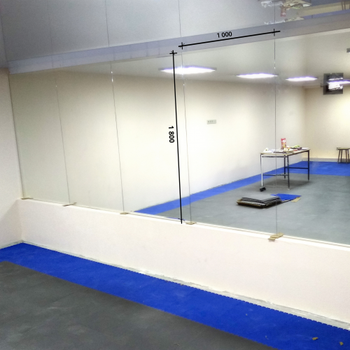 Зеркало в хореографический зал 1800 1000 мм. ( 180 х 100 см)
