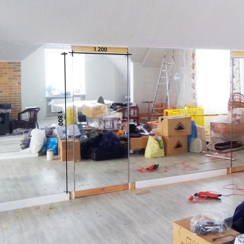 Зеркало в хореографический зал 1800 1200 мм. ( 180 х 120 см)