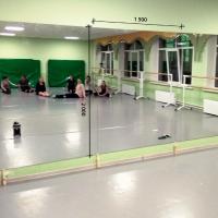Зеркало в танцевальный зал 2000 1500 мм. ( 200 х 150 см)