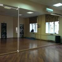 Зеркала в фитнес 2000 1600 мм. ( 200 х 160 см)