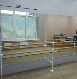 Зеркало в хореографический зал 1800 1400 мм.