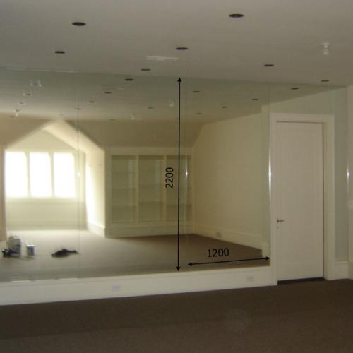 Зеркало в танцевальный зал 2200 1200 мм. ( 220 х 120 см)