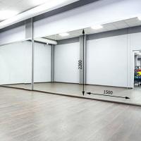 Зеркало в хореографический зал 2200 1500 мм. ( 220 х 150 см)