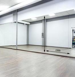 Зеркало в хореографический зал 2200 1500 мм.