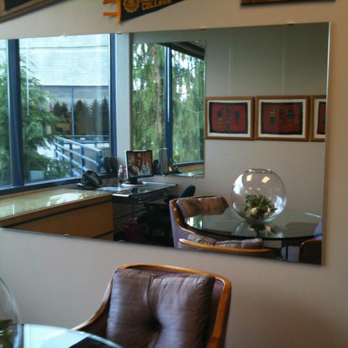 Зеркала в офис