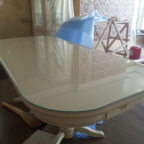 Пример Стекло на стол