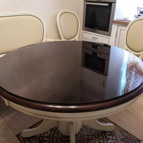 Пример Стекло на стол 16